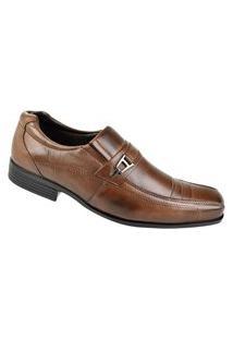 Sapato Social Cazzac Masculino - Marrom