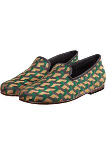 Slipper Sapatos Elisa Marchi Loafer Home Verde