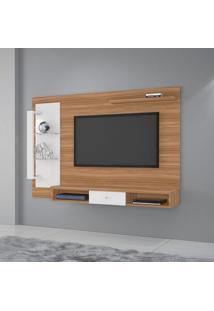 Painel Para Tv Até 50 Polegadas Cromo Naturale E Off White