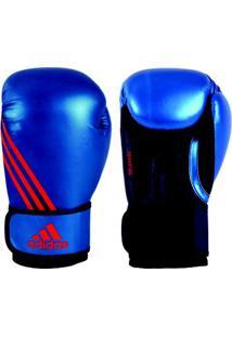 Luva De Boxe Adidas Speed 100 - Unissex-Azul