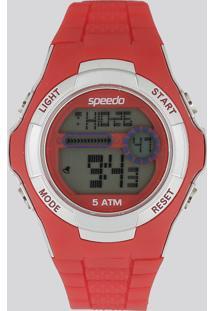 Relógio Digital Speedo Feminino - 81121G0Evnp4 Vermelho - Único