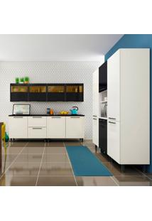 Cozinha Completa Black&White 13 Pt 2 Gv Branca E Preta