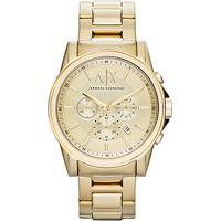 61bce42f016 Relógio Armani Exchange Analógico Ax2099 4Dn Masculino - Masculino-Dourado