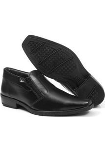 Sapato Masculino Épico Abertura Com Zíper - Masculino