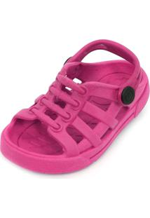 Sandália Babuche Plugt Eco Liso Pink
