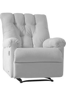 Poltrona Reclinável Corino Gran Comfort Branca