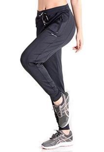 Calça Jogger New Standard - Feminino-Preto
