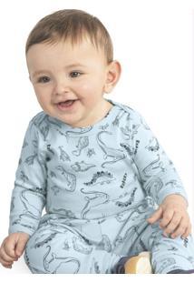 Body Infantil Masculino Azul