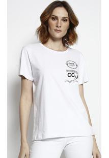 "Camiseta ""Taste It Like The First Time""- Branca & Preta"