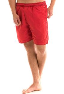 Short Konciny Tactel Vermelho