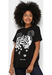 Camiseta Colcci Básica Mickey Feminina - Feminino