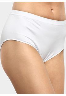 Calcinha Alta Trifil Modeladora - Feminino-Branco
