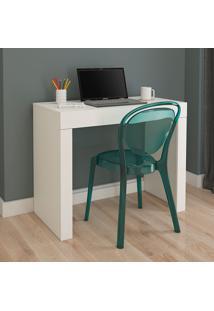 Mesa Para Computador Com 1 Gaveta Cléo – Permóbili - Branco