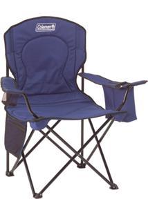 Cadeira Dobrável Com Cooler Azul - Coleman