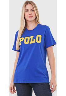Camiseta Polo Ralph Lauren Logo Azul