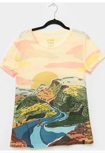 Camiseta T-Shirt Cantão Classic Nascente Feminina - Feminino