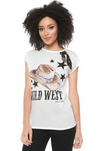Camiseta Lez A Lez Wild West Off-White - Kanui