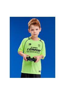 Camisa 10 Sport Verde Neon Youccie