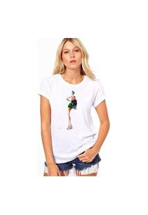 Camiseta Coolest Lady Vintage Branco