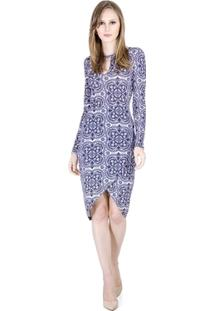 Vestido Midi Estampado Colcci - Feminino