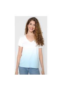 Camiseta Gap Tie-Dye Azul/Branca
