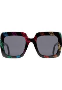 515cf264e Óculos De Sol Glitter Listras feminino | Shoes4you