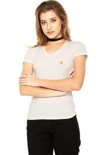 Camisa Pólo Casual Off White feminina  79920ff9aec48