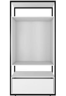 Guarda-Roupa Closet Modulado Manchester Ii 1 Gv Branco