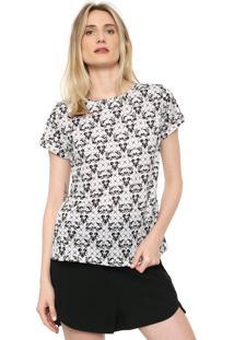 Camiseta Dimy Estampada Off-White