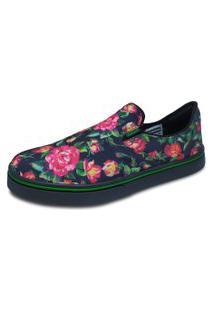 Tênis Hocks Sleeper Floral/Pink