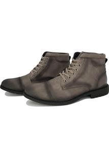 Bota Viteri Ground Masculina Cinza