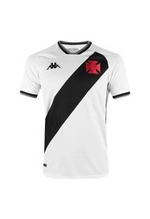Camisa Kappa Vasco Oficial Ii 2021 Plus Size Masculina