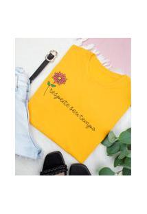 T Shirt Feminina Algodão Ref 401 Doce Encanto