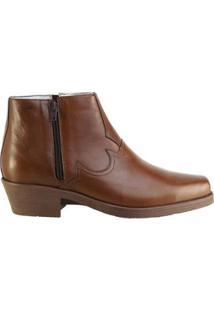 Bota Hb Agabe Boots Conforto Masculina - Masculino-Marrom