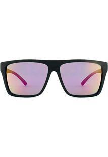 Óculos De Sol Hb Floyd 9011700186 60 Preto Fosco Espelhado Rosa 3be51f9413