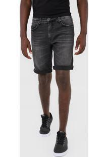 Bermuda Jeans Colcci Reta Noah Preta