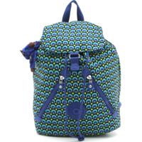 14ae071bb Dafiti. Mochila Kipling Backpacks Fundamental Peacock_4 Azul