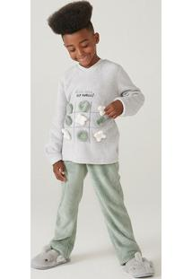 Pijama Infantil Menino Em Fleece Interativo