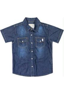 Camisa Marisol Azul Menino