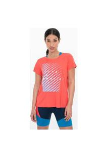 Camiseta Estampa Forte E Poderosa | Get Over | Laranja | M