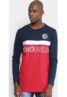 6f3782e88 Camiseta Ecko Estampada Manga Longa Masculina - Masculino