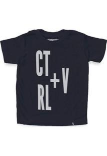 Ctrl+V - Camiseta Clássica Infantil