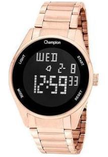 Relógio Feminino Champion Digital Ch40231Z - Feminino-Rose Gold