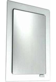Espelho De Cristal Prata 40X55Cm