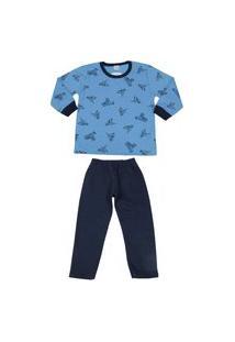 Pijama Moletom Abrange
