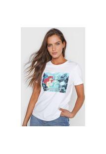 Camiseta Only Ariel Total Catch Branca