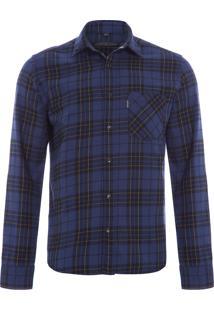 Camisa Masculina Benjamin - Azul