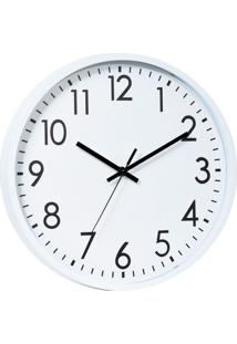 Relógio Ralph Branco E Preto 25X25X3,8 Cm