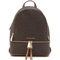 8e4c84531a6ea Mochila Esportiva Marrom Michael Kors   Shoes4you