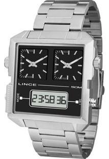 Relógio Analógico & Digital Quartz Mam4587Sp1Sx- Inox & Orient